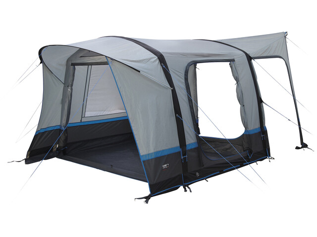 High Peak Trento Air Tent Light Grey/Dark Grey/Blue